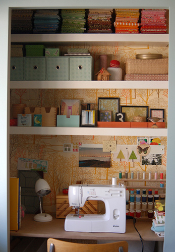 Organizing Your Sewing Space Small Spaces Whipstitch