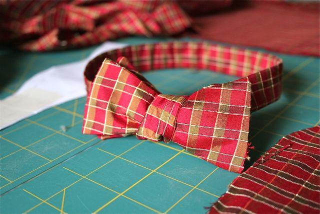 Handmade Bow Tie. | Whipstitch