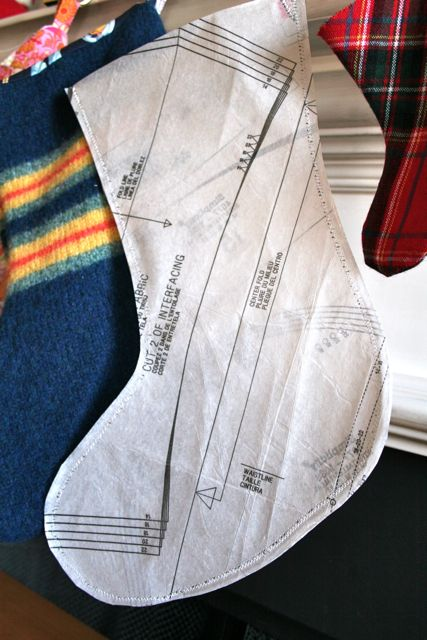 Sewing Patterns For Christmas Stockings Free Sewing Pattern Stockings