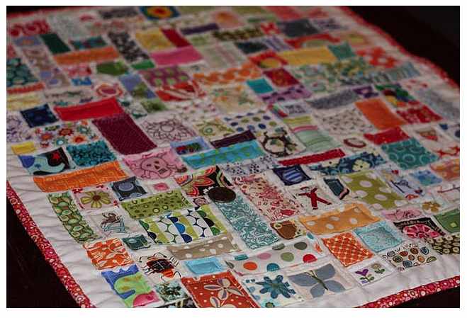 Scrap Project Bucket #3: Ticker Tape | Whipstitch : ticker tape quilts - Adamdwight.com