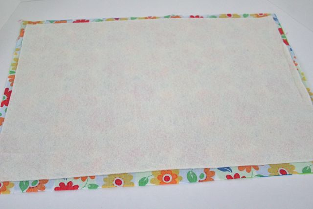 how to make quilted placemats video