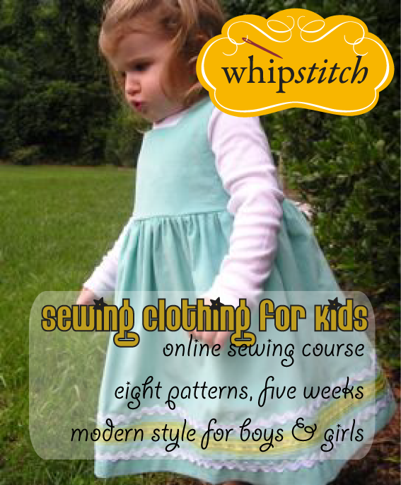 Sewing Clothing for Kids e-course | Whipstitch