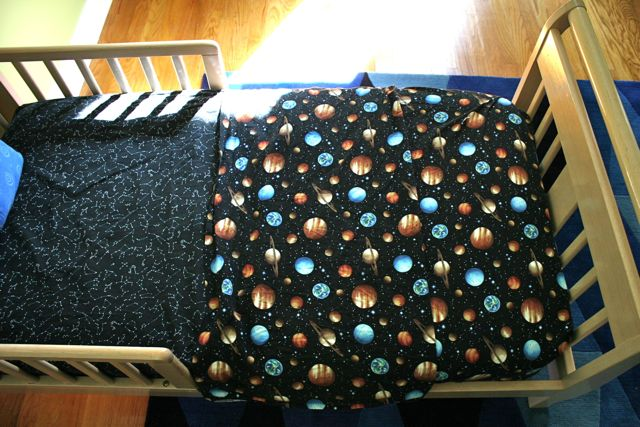 space toddler sheets 2