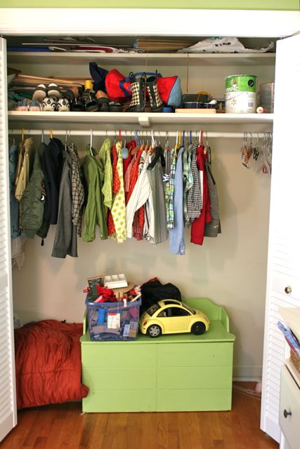 Closet Clean Out Project #2 and #3: Boy's and Girls' Closets ...