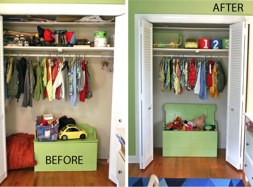 Closet Clean Out Project 2 And 3 Boys Girls Closets