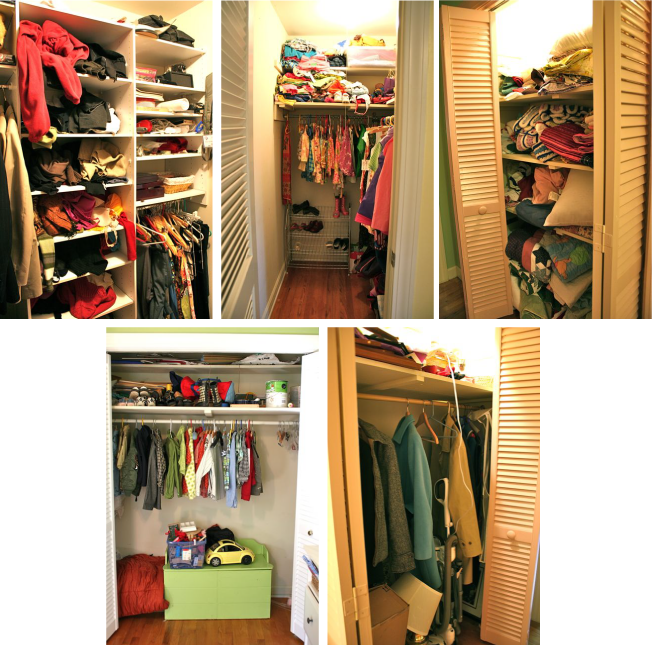 The great closet clean out whipstitch for Great closets