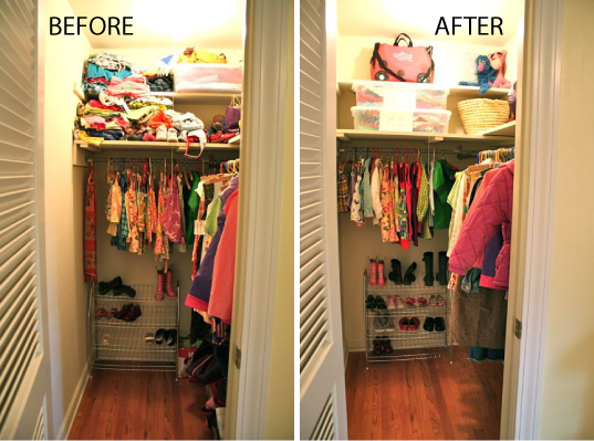 Closet Clean Out Project 2 And 3 Boy S And Girls