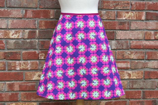 aline skirt from craftsy class | whipstitch