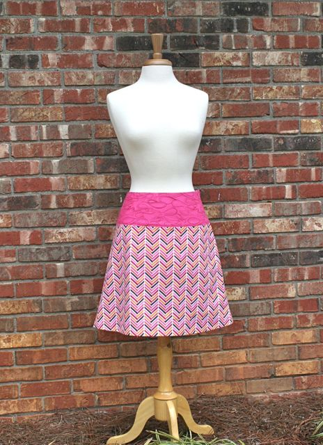 herringbone skirt 1