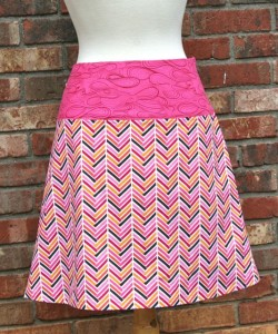 herringbone skirt 2