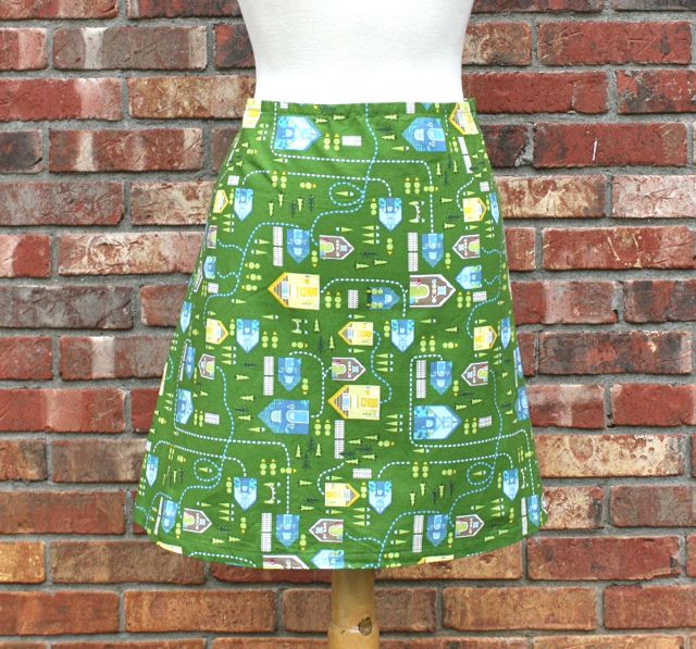A-Line Skirt Giveaway from my Craftsy Class! | Whipstitch