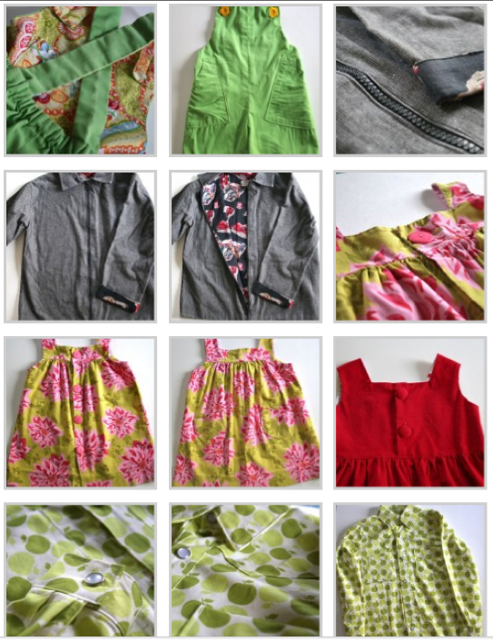 Sewing Clothes for Kids e-course gallery