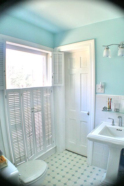 attic paint color ideas - Jack and Jill Bathroom Renovation