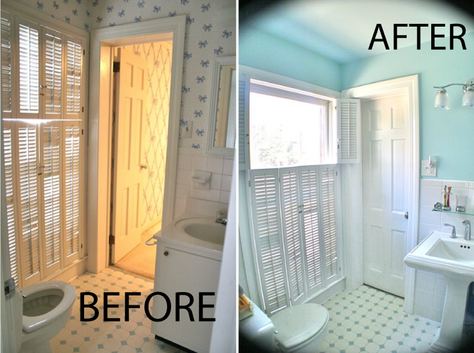 How To Remodel A Jack And Jill Bathroom : Jack and jill bathroom renovation whipstitch