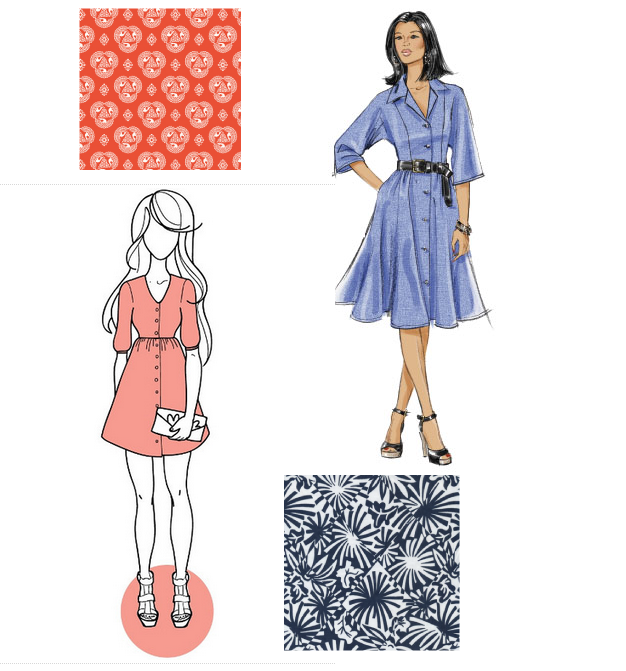 audrey shirtdress ideas