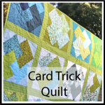 card trick quilt button