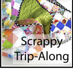 scrappy trip quilt button