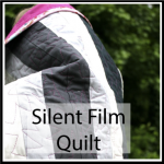 silent film quilt button