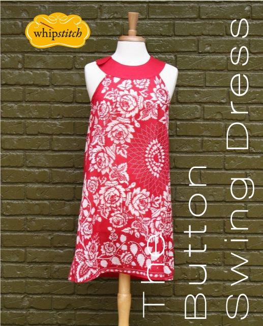 button swing dress pattern | whipstitch