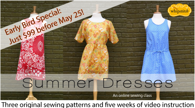 summer dresses early bird | whipstitch