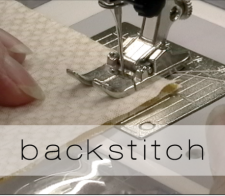backstitch button