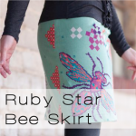 bee skirt button