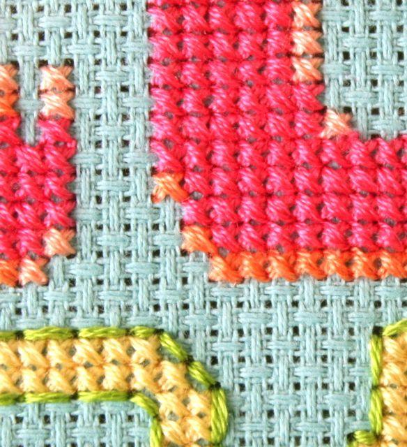 cross stitch zoom | whipstitch
