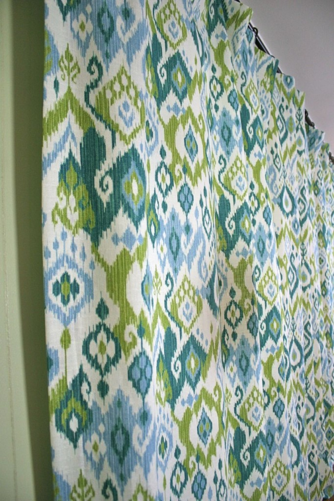 den curtain ikat | whipstitch