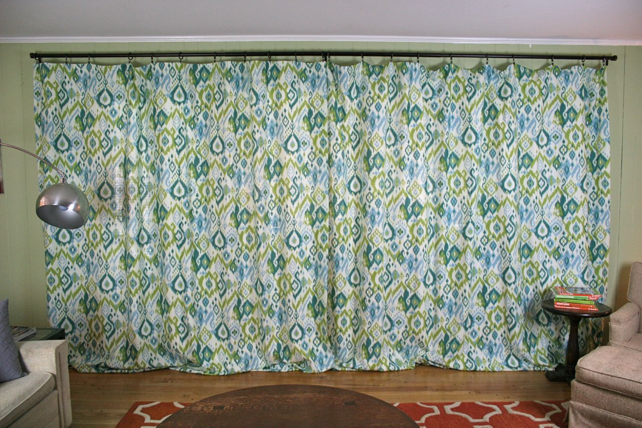 Very Curtains for the Den | Whipstitch AI35