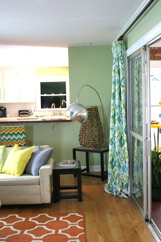 den curtains kitchen view | whipstitch