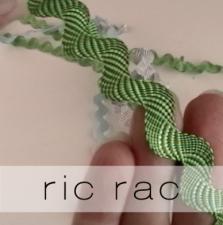 ric rac button