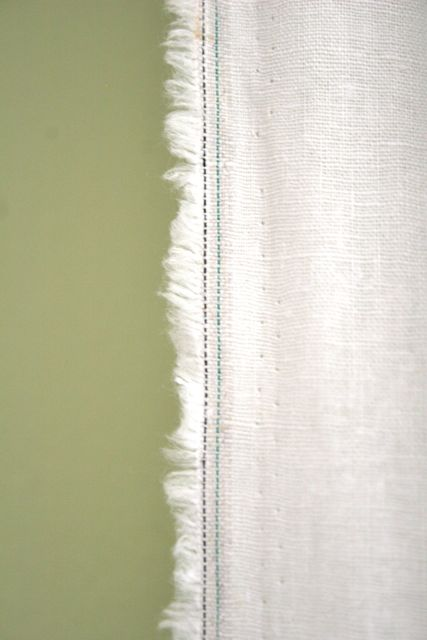Emergency Curtains Whipstitch