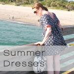 summer dresses button