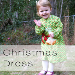 xmas dress button