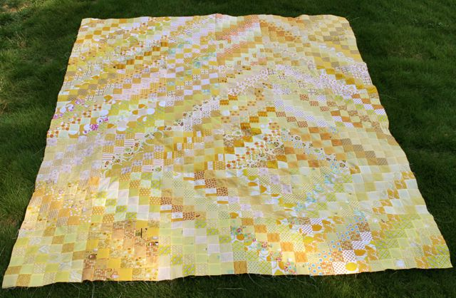 all yellow scrappy trips around the world | whipstitch