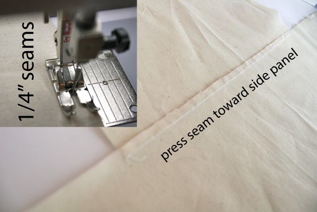 press seams