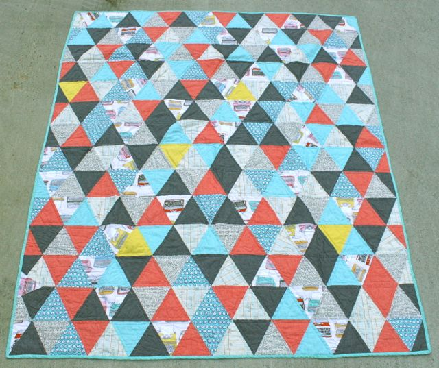 Whipstitch | triangle quilt1