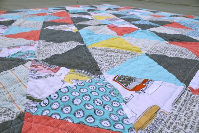 Whipstitch | triangle quilt2