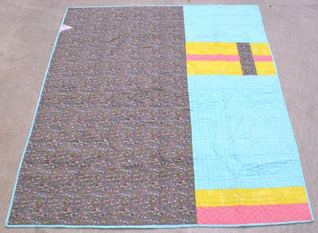 Whipstitch | triangle quilt3