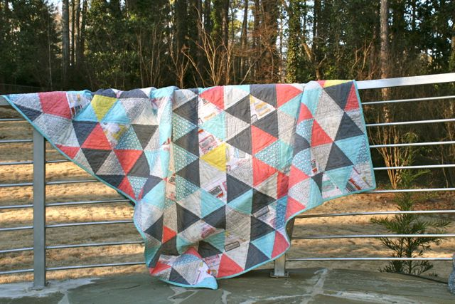 Whipstitch | triangle quilt6