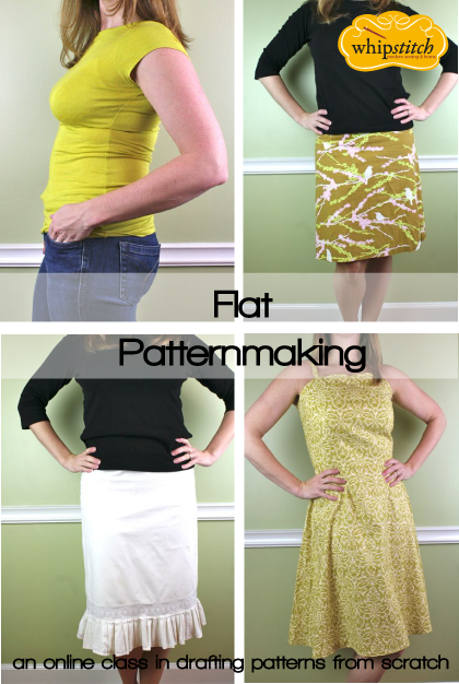 flat patternmaking ecourse samples