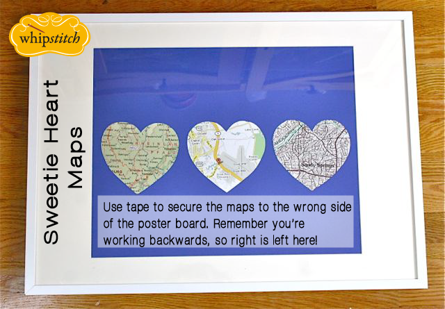 Gifts For Guys Framed Maps For Valentine S Day With Mini