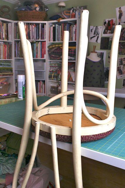 rejuvenating a vintage chair