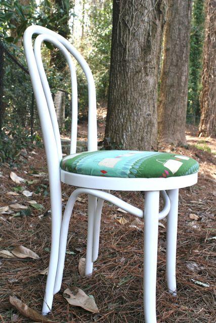 ruby star polka dot fabric chair cover