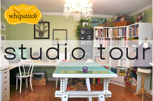 whipstitch sewing studio tour