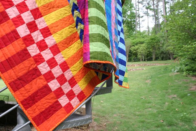 stripes and solids | quilt