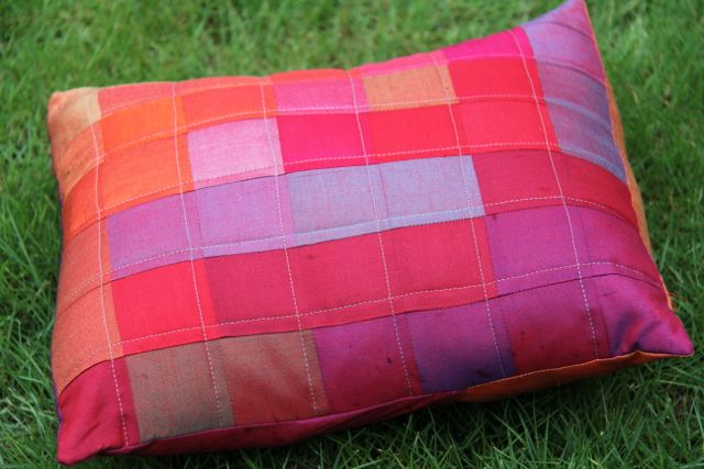 quilted oakshott pillow cover | whipstitch blog