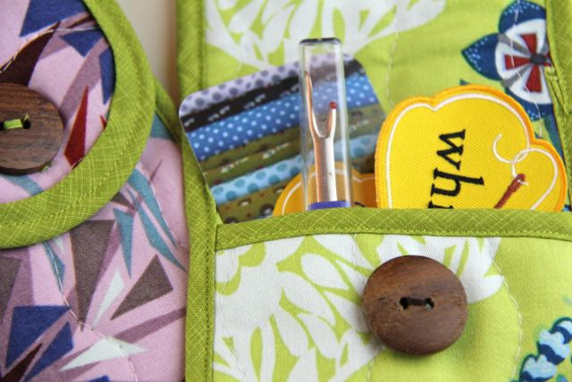 quilted pouch sewing kit