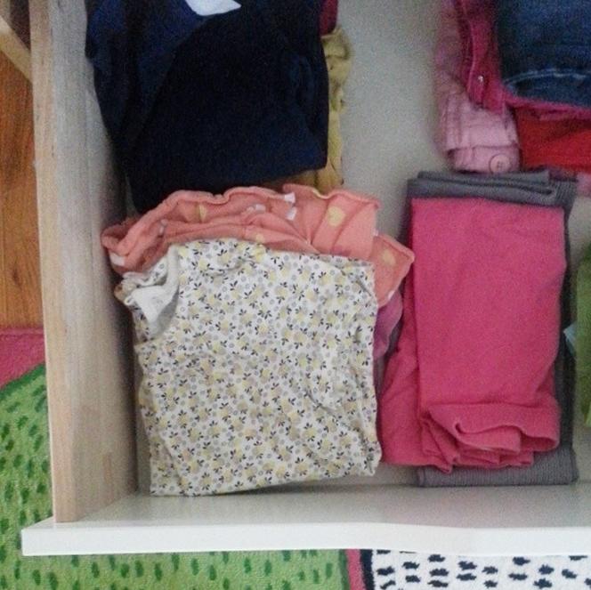 kids back to school wardrobe organization