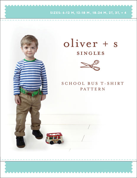oliver and s schoolbus tee